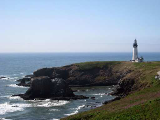 Yaquina Head Lighthouse shot this past summer in Oregon.