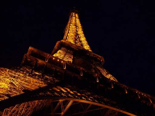 This past spring break, I went to France with my school. When we arrived at the Eiffel Tower, it was beautiful and sunny. By the time we had gone to the very top and came back down, it was completely dark. It was absolutely amazing.