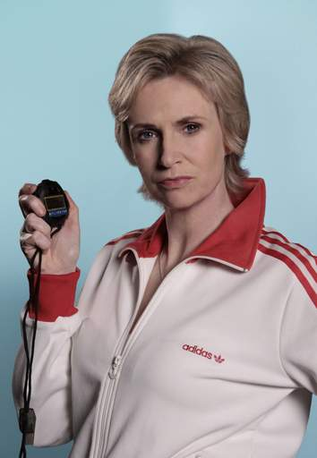 Chicago-area native Jane Lynch plays McKinley High's stern cheerleading instructor on