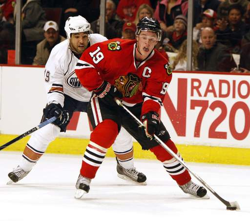 Jonathan Toews says the Blackhawks are happy the roster is set and the team can concentrate on the stretch run.