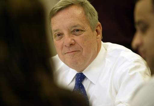 U.S. Sen. Dick Durbin was in Elgin Tuesday to speak with residents about the foreclosure crisis.