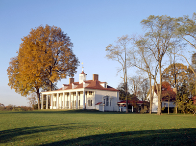 George Washington's Mount Vernon is part of a pivotal scene in