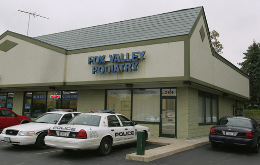 Dr. Stephen Loheide of Fox Valley Podiatry was arrested on charges of eavesdropping and other charges.